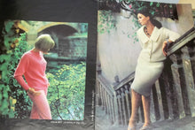 Vintage women knitting and crochet pattern book by Brunswick vol. no 655, Fantasies, sizes 12-14-16