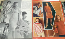 knit/crochet pattern magazine,Vintage Modern Needlecraft fall winter no. 48,trends in knits and crochet for men and women,sizes 12-14-16,