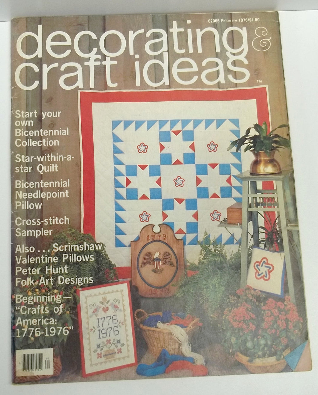 Vintage Decorating Craft Ideas Made Easy Magazine From February