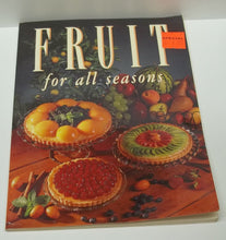 vintage Fruit for all seasons recipe book by Jennene Plummer, fruits, recipes, fruit recipes, fruit recipe book,vintage fruit recipe book
