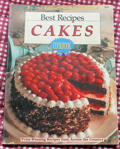 vintage book,Best Cake recipes Ever Cookbook,cake cookbook,baking cake cookbook,Prize winning recipes from across the country cookbook