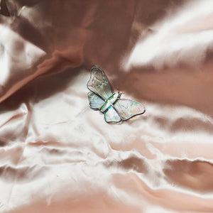 Stained glass 3D butterfly
