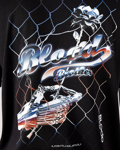 Chrome T-shirt in Black - Blood Brother