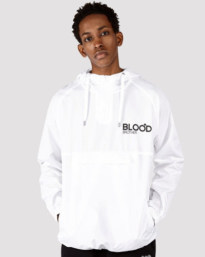Dalston Jacket in White - Blood Brother