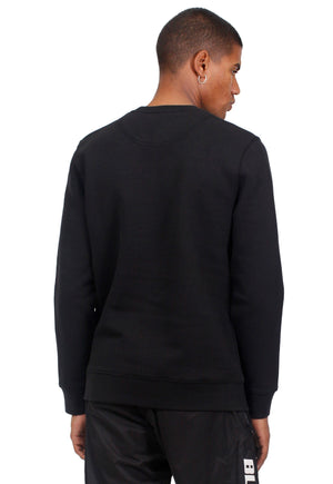 Akizane Printed Sweatshirt in Black