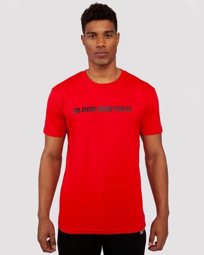 Hazard T-Shirt in Red - Blood Brother