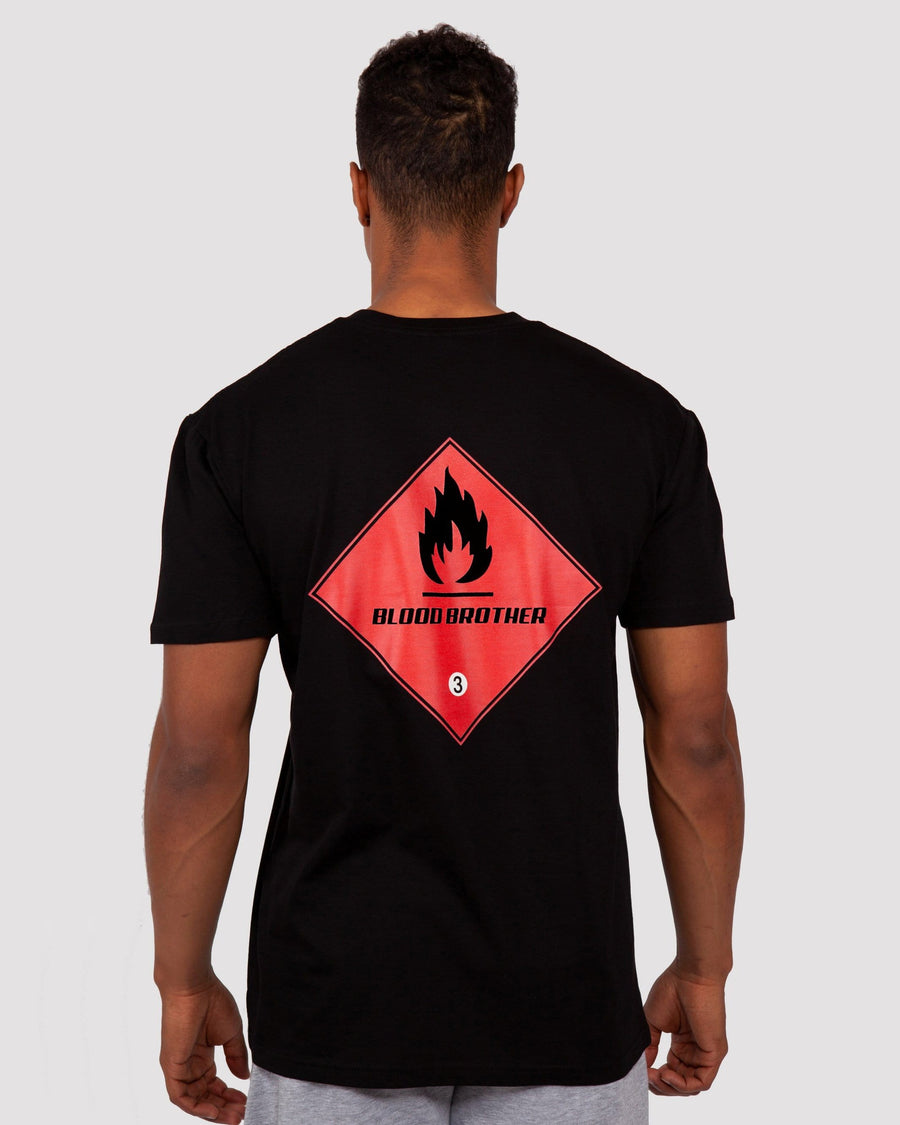 Hazard T-Shirt in Black - Blood Brother