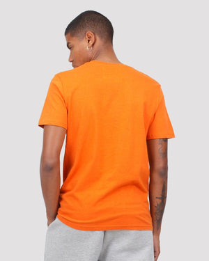 Onigawara Printed T-Shirt in Orange