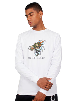 Ryu Long Sleeve T-Shirt in White