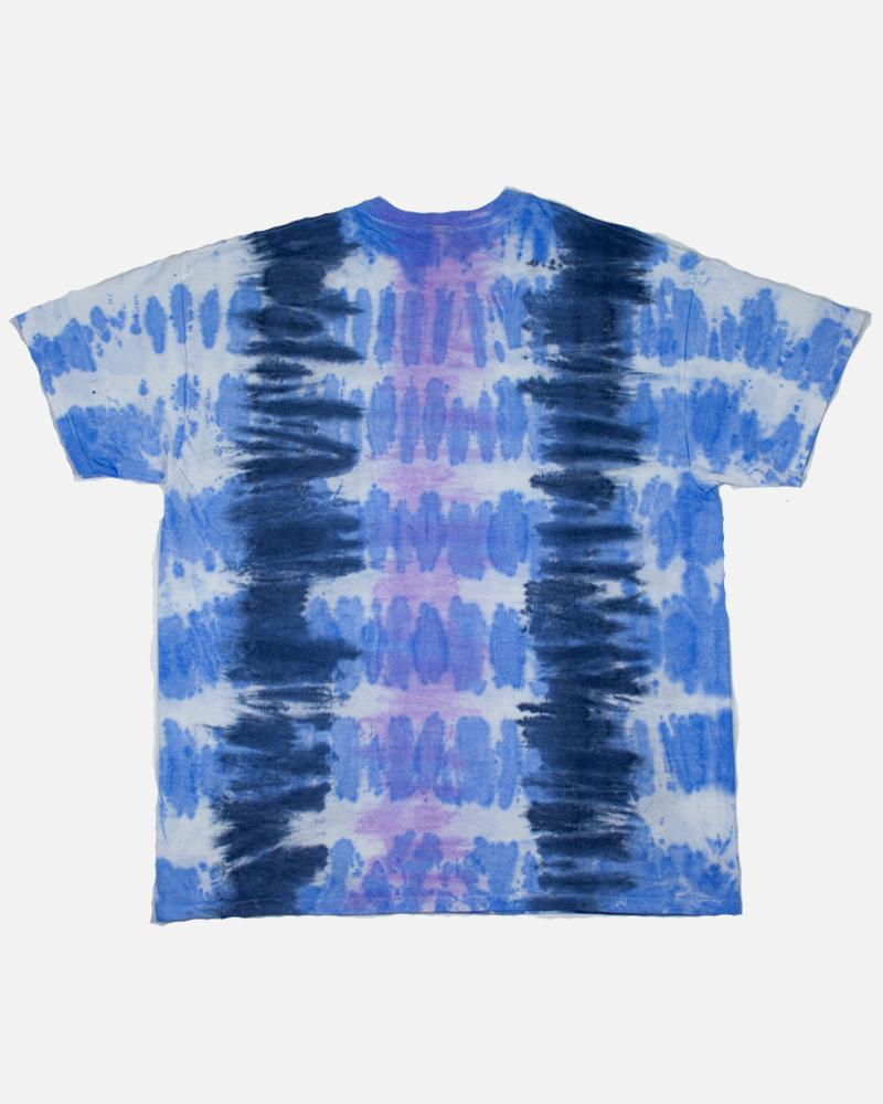 Never Stripe T-shirt in grey Tie Dye