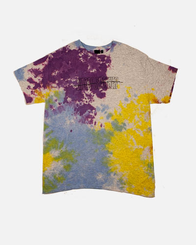 Shear Cloud T-shirt in Grey Tie Dye