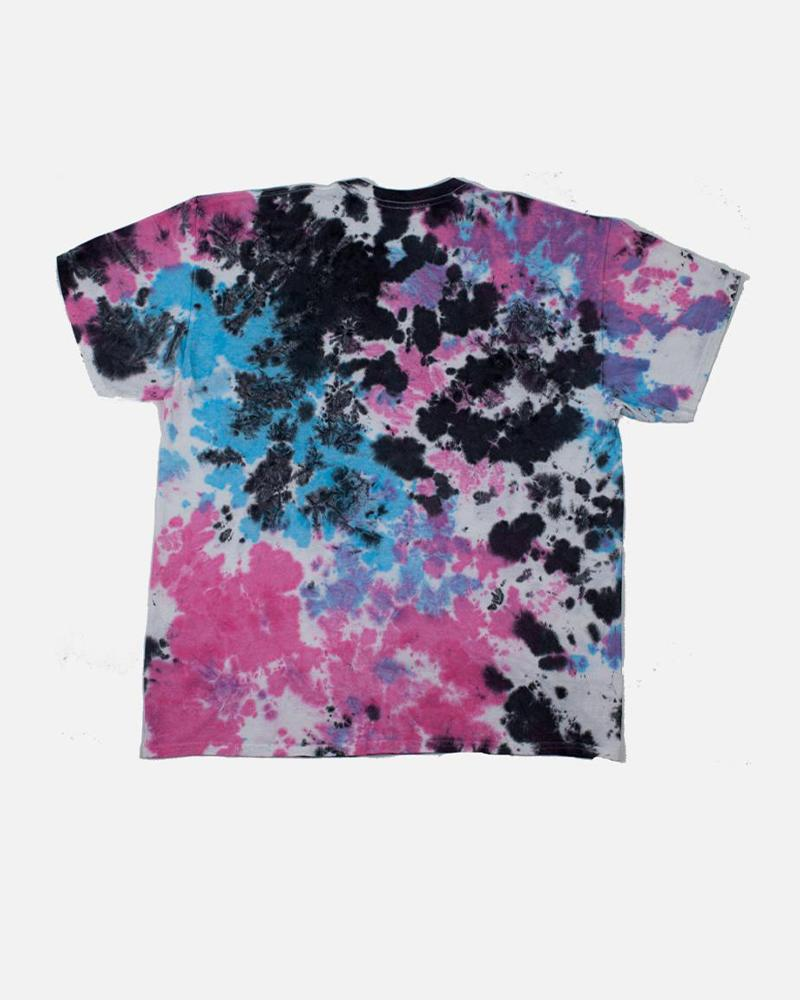 Code Vivid t-shirt in Blue Tie Dye