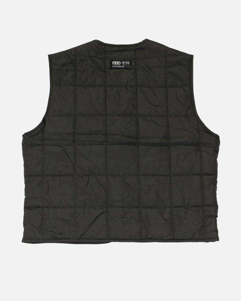 Warren Quilted Gilet -  Putty