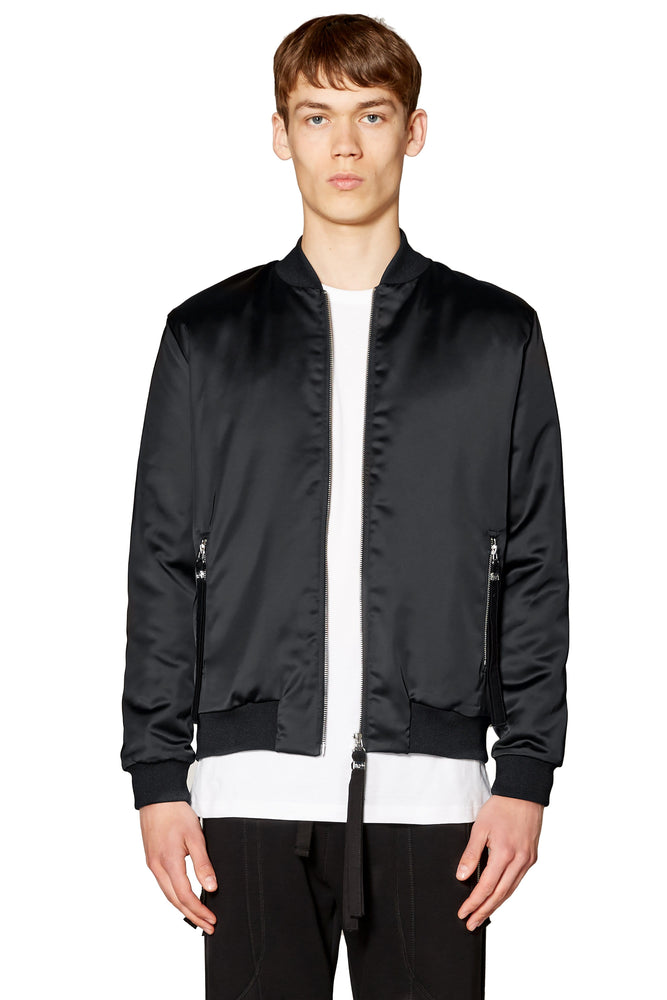 Sunsilk Bomber in Black