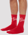 Toby Socks in Red