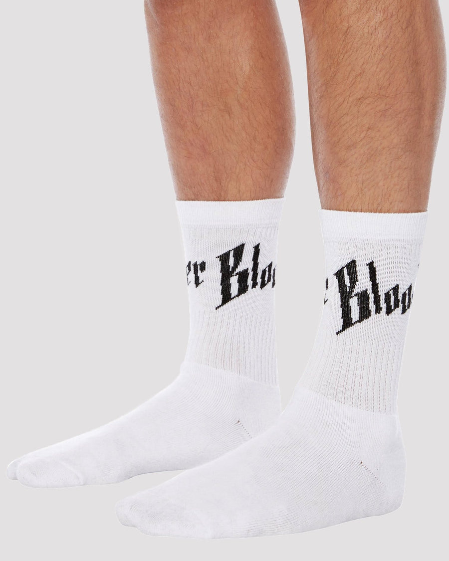 Toby Socks in White