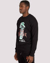Wolfe Sweatshirt in Black