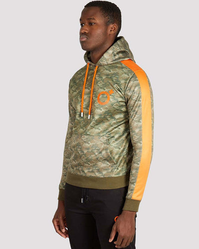 Corman Hoodie in Camo Orange - Blood Brother