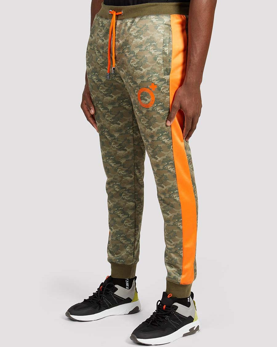 Carlsen Joggers in Camo Orange