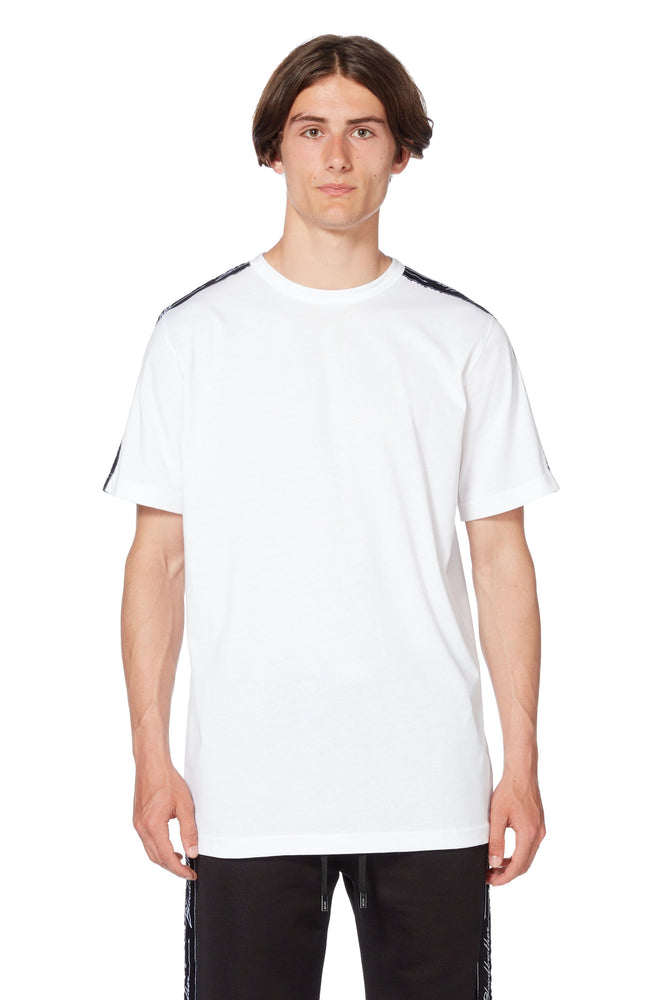 Cable T-Shirt in White