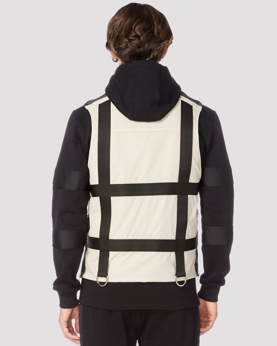 Four Dials Gilet in Oatmeal - Blood Brother