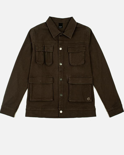Military Jacket in Khaki