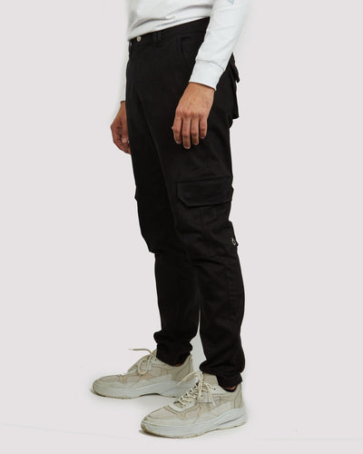 Elias Trousers in Black - Blood Brother