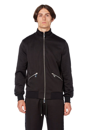 Web Jacket in Black