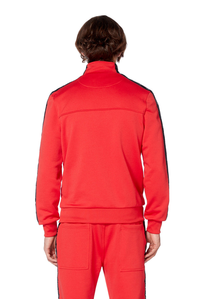 Web Jacket in Red