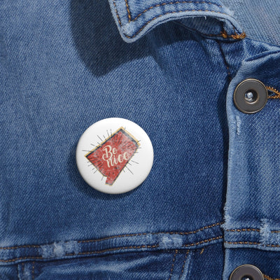 Be Nice Pin Buttons