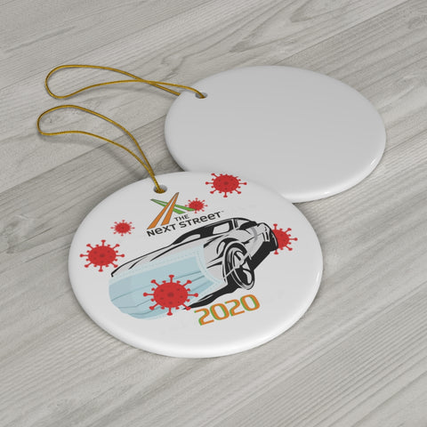 Pandemic 2020 Commemorative Winter Ornament