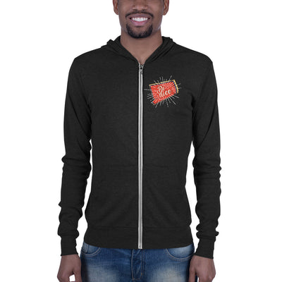 Be Nice Men's Zip-Up Hoodie