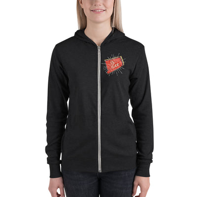 Women's Be Nice Zip-Up Hoodie