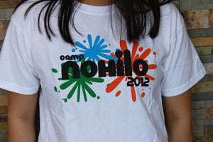 Camp NoHiLo 2012 Paint Splatter Shirt