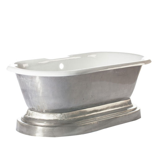 "Doyle 67"" Cast Iron Double Roll Top on Base"