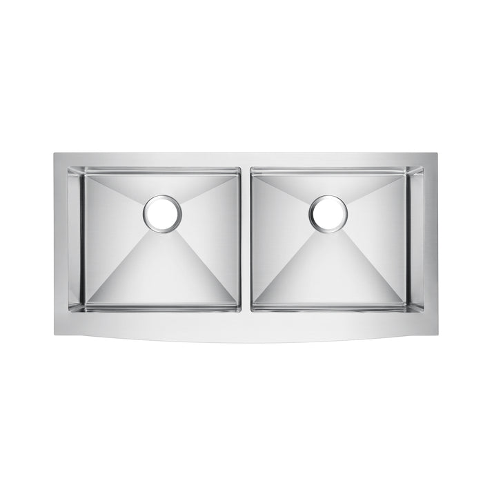 Dominic Double Bowl Stainless Farmer Sink