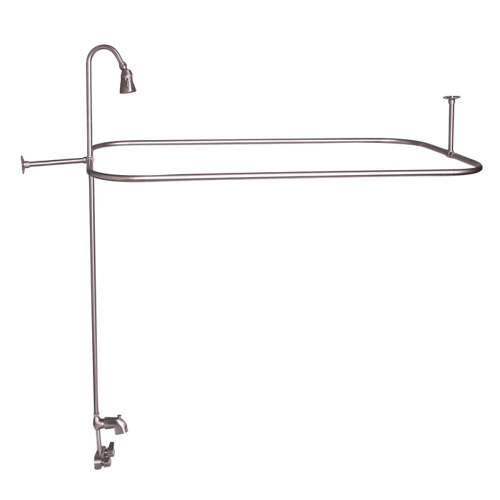 Rectangular Shower Unit with Code Spout