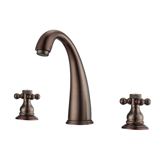 Maddox Widespread Lavatory Faucet with Button Cross Handles