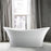 "Noreen 69"" Acrylic Double Slipper Tub"