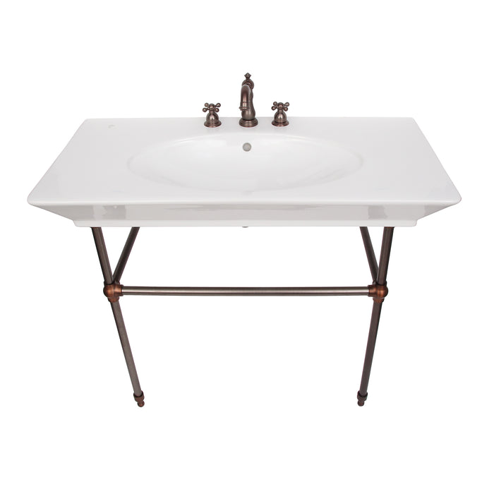"Opulence Large Console with Brass Stand for ""Her"""