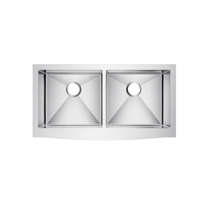 Dixon Double Bowl Stainless Farmer Sink