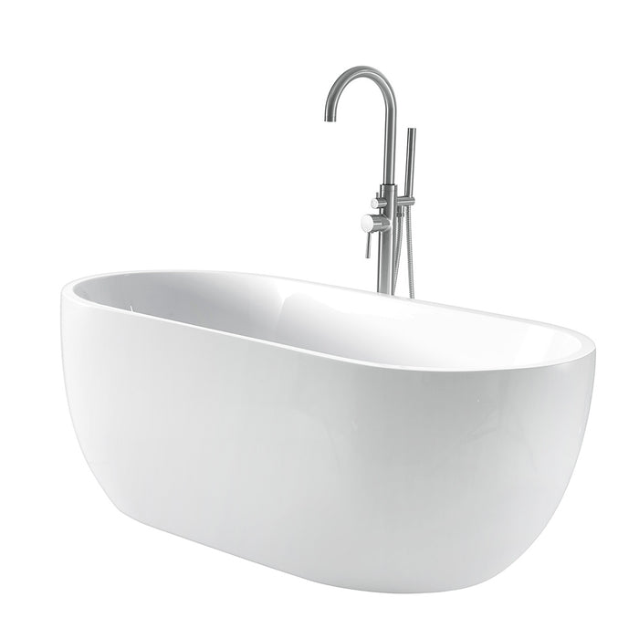 "Pan 56"" Acrylic Tub"