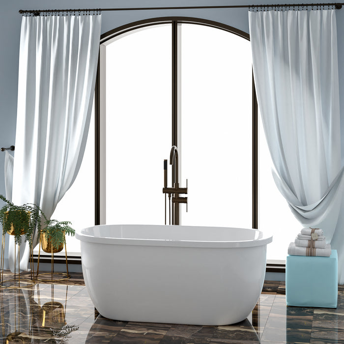 "Phillipe 55"" Acrylic Tub"