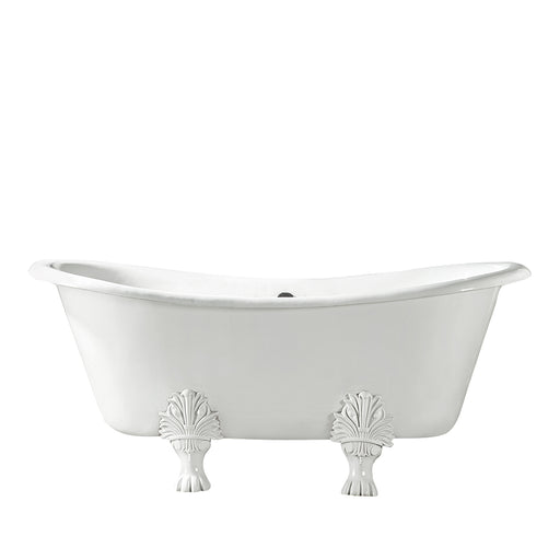 "Markus 66"" Cast Iron Double Slipper Tub"