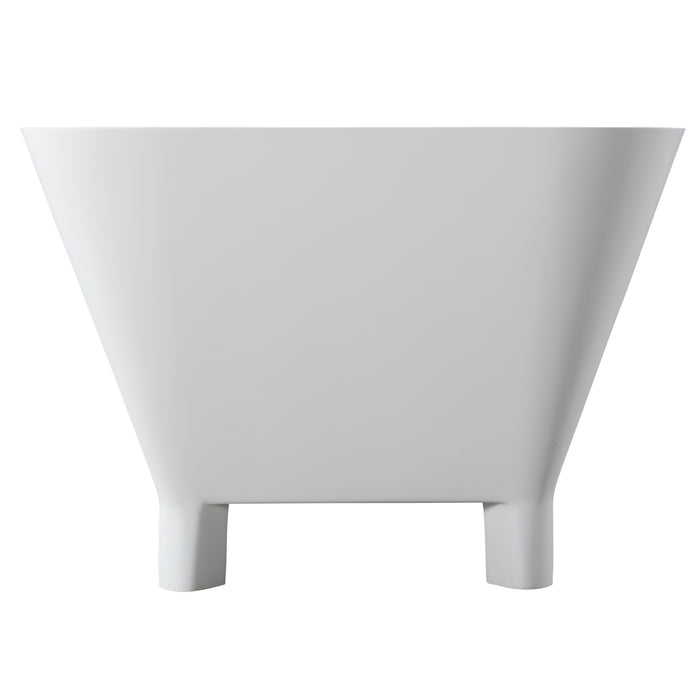 "Scofield 67"" Freestanding Resin Tub"