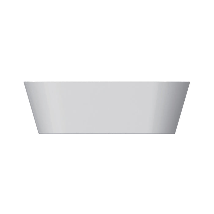 "Orrick 63"" Acrylic Oval Tub with Integral Drain and Overflow"