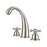 Maddox Widespread Lavatory Faucet with Metal Cross Handles