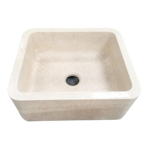 Chandra Single Bowl Marble Farmer Sink