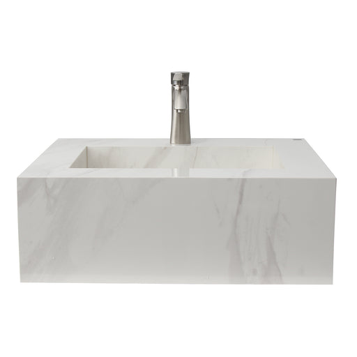 "Precious 25"" Wall-Hung Sink with Invisible Drain"
