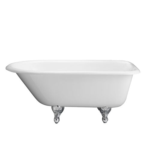 "Antonio 55"" Cast Iron Roll Top Tub"